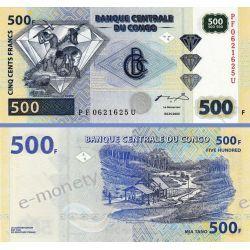 Kongo 500 FRANCS 2002