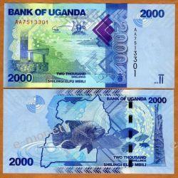 Uganda 2000 SHILINGS 2010