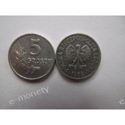 5 groszy 1968 mennicza Monety groszowe