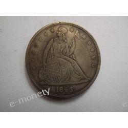 USA ONE DOLLAR 1846 Kolekcje