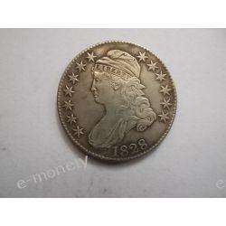 USA 50 CENTÓW 1828 Kolekcje