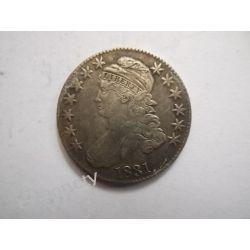 USA 50 CENTÓW 1831 Kolekcje