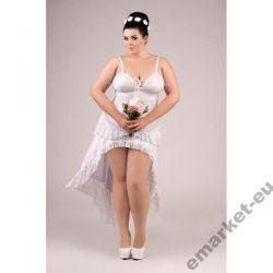 sukienka NOC POŚLUBNA XXXL 3XL 50 52 dla puszystej