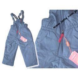 Spodnie ocieplane Boy 92 cmGRAFIT ZIMA NARTY/SANKI