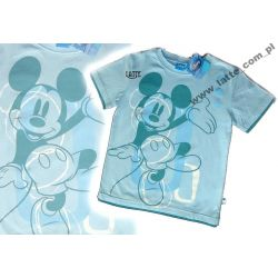 Mickey Mouse Myszka Miki T-shirt Disney BLUE 134cm