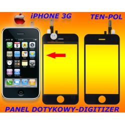 EKRAN-PANEL DOTYKOWY DIGITIZER iPHONE 3G JAKOŚĆ HQ