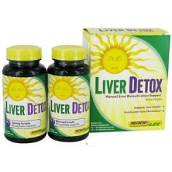 Renew Life Liver Detox Kit 30 Day Program 120 Capsules