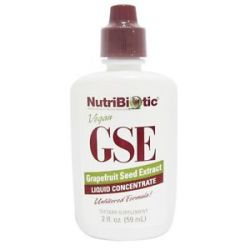 Nutribiotic GSE Grapefruit Seed Extract Liquid Concentrate 2 Oz 728177009953