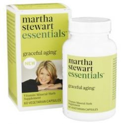 Martha Stewart Essentials Graceful Aging Vitamin Supplement 60 Vegetarian