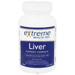 Extreme Health USA Liver Support Formula 90 Capsules formerly Liver Cellular