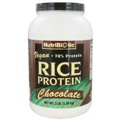 Nutribiotic Vegan Rice Protein Chocolate 3 Lbs