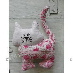 Kociaki - orkiszaki, eko przytulanka Rękodzieło