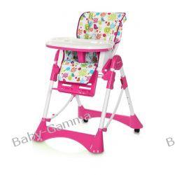 Krzesełko do karmienia Baila Candy Pink Euro-Cart