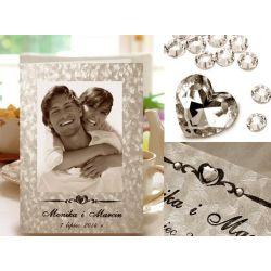 Zaproszenia ślubne, ze zdjęciem, na ślub PAP.FOTO