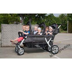 SIXseater wózek 6-osobowy ChildHome Autobreak Materace, wkładki