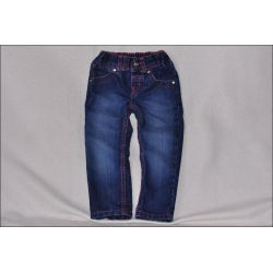 F&F * Cudne SPODNIE jeansy Rurki * 2-3L