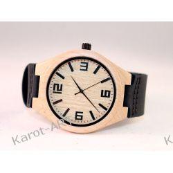 Drewniany zegarek KLON granatowy Zegarki