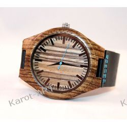 Drewniany zegarek ZEBRA Biżuteria i Zegarki