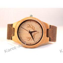 Eko zegarek z drewna JELEŃ Biżuteria i Zegarki