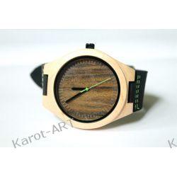 NOWY WZÓR! Drewniany zegarek z sandałowca i klonu Zegarki