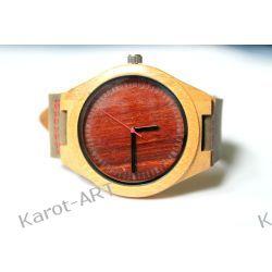 NOWY WZÓR! Drewniany zegarek sandałowiec i bambus Zegarki