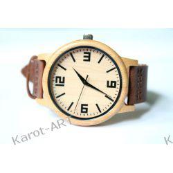 Nowy design! Drewniany zegarek BAMBUS Zegarki