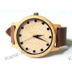 Nowy design! Drewniany zegarek KWADRATY Zegarki
