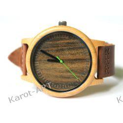 Nowy design! Drewniany zegarek SANDAŁOWIEC Zegarki