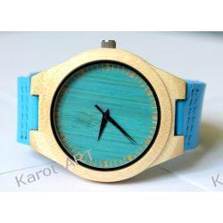 NOWOŚĆ na lato! Drewniany awangardowy zegarek BAMBUS Zegarki