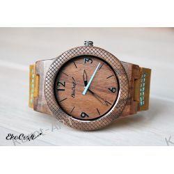 Drewniany zegarek EKOCRAFT WALNUT WINTER COLLECTION 2016 Zegarki
