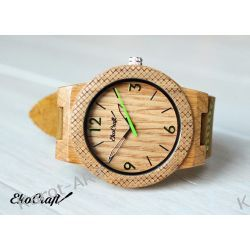 Drewniany zegarek EKOCRAFT OAK WINTER COLLECTION 2016 Zegarki