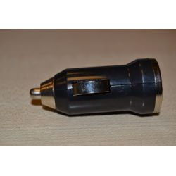 Ładowarka USB 12-24V samochodowa 1A / 5V kolor czarny (gustaf)...