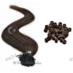 Pasemka włosy 100% Naturalne 53cm 20sztuk + Ringi