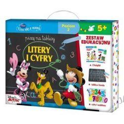 Disney Ucz się z nami. Piszę na tablicy litery i cyfry