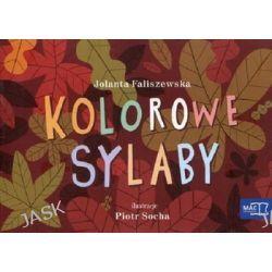 Odkrywam czytanie. Część 19. Kolorowe sylaby - Jolanta Faliszewska