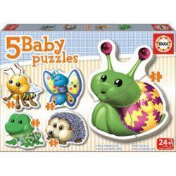 Educa Baby. Zwierzątka. Puzzle 5 w 1