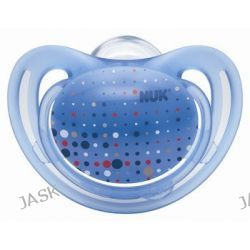 NUK silikonowy smoczek uspok. 6-18 m-cy Freestyle, niebieski