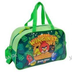 Paso Angry Birds Rio ABH-074. Torba sportowa - zielona