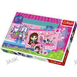 Trefl. Zwierzaki Pet Shop - puzzle (2x50 elementów)