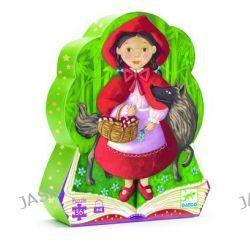 Czerwony Kapturek - puzzle w pudełku