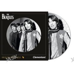 Clementoni - Płyta the Beatles, czarno/biała - 212 elementów
