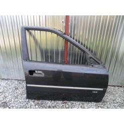 Drzwi prawy przód czarne Citroen Xantia 93-98r. Drzwi