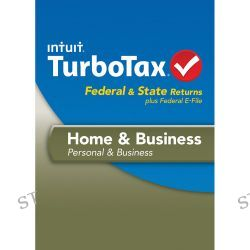 Intuit TurboTax Home & Business Federal E-File + 424486 B&H