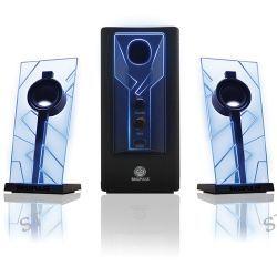 GOgroove BassPULSE 2.1 Stereo Speaker Sound GGBP000100BKUS B&H