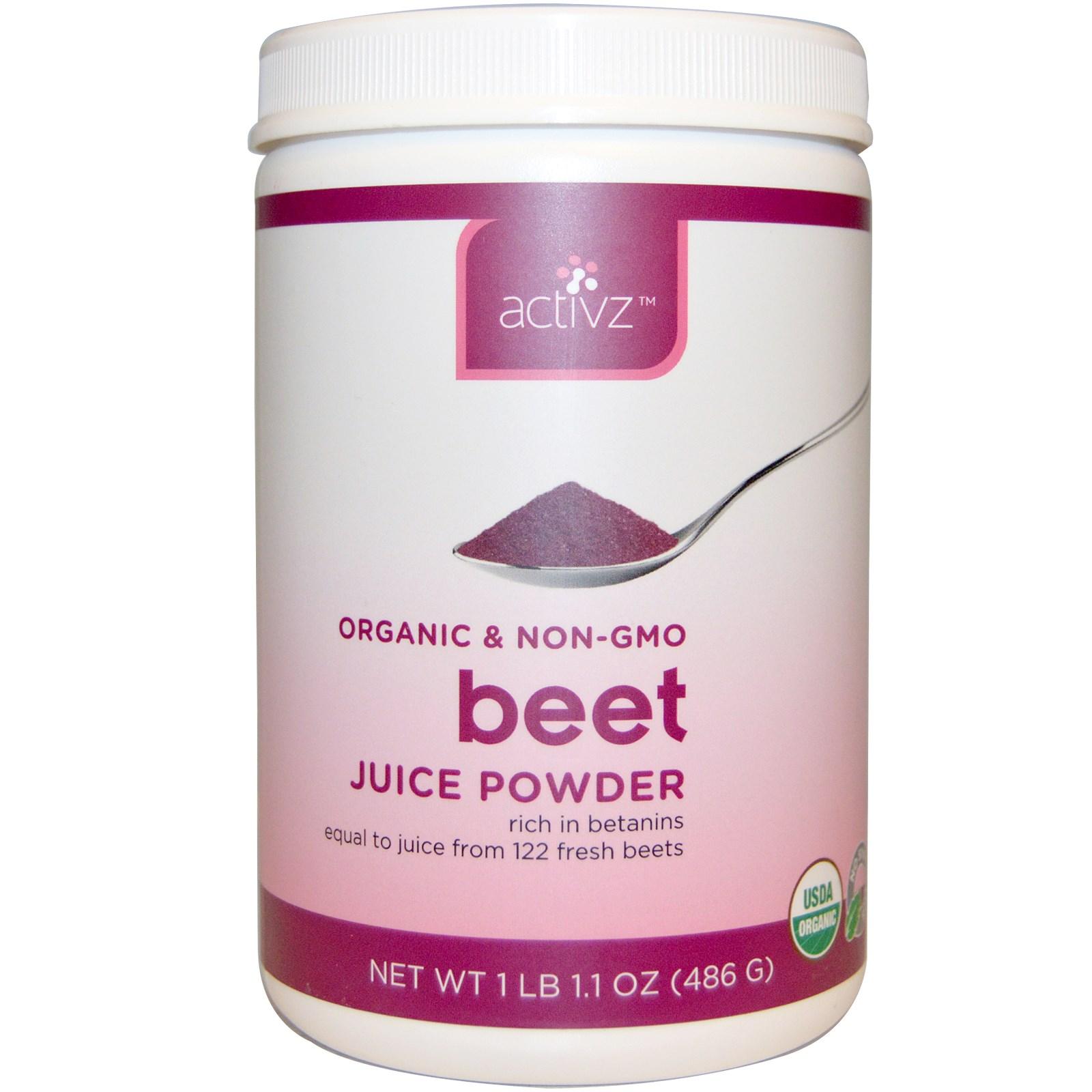 Organic juice powder
