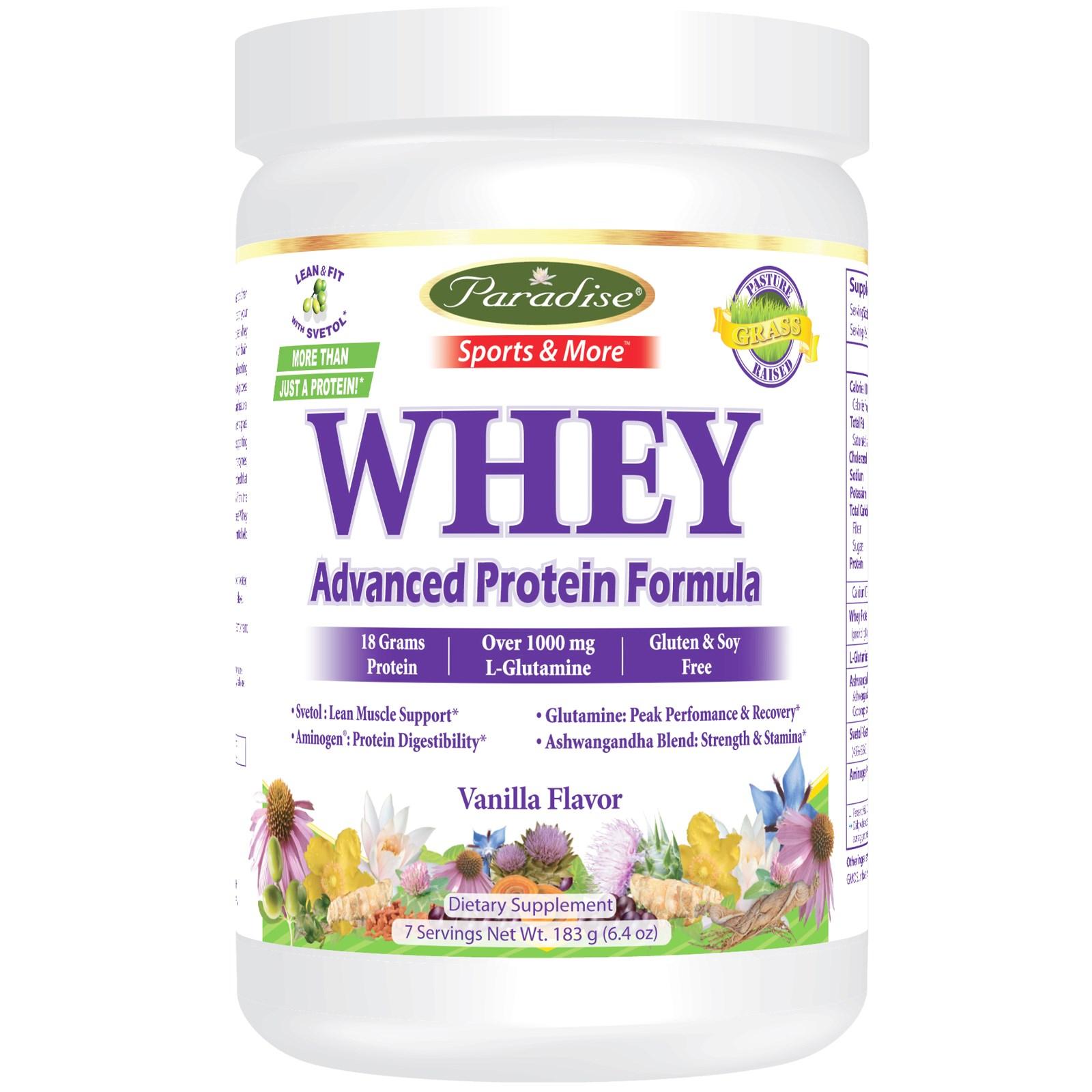 Paradise whey protein