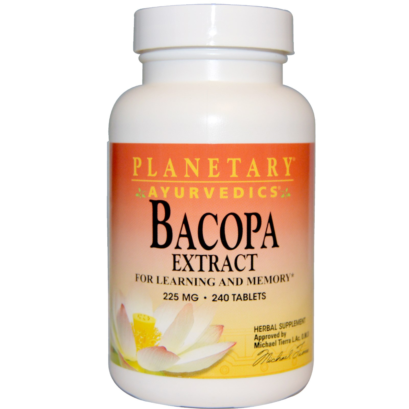 Planetary herbals bacopa