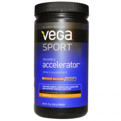 Vega, Sport, Recovery Accelerator, Powder, Tropical Flavor, 19 oz (540 g)