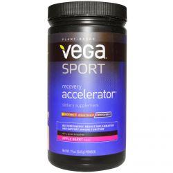 Vega, Sport, Recovery Accelerator, Powder, Apple Berry, 19 oz (540 g)