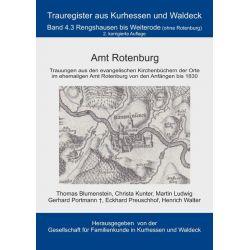 Bücher: Amt Rotenburg  von Thomas Blumenstein,Eckhard Preuschhof,Christa Kunter,Martin Ludwig,Heinrich Walter